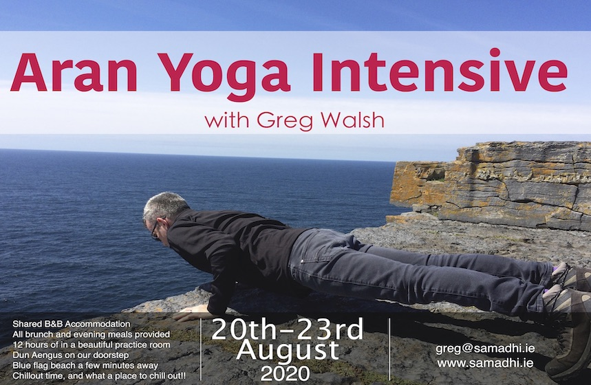 Yoga on the aran islands