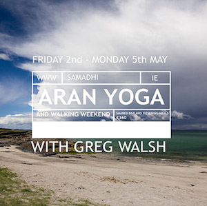 Yoga and walking on the aran islands with greg walsh