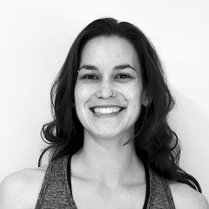 vinyasa yoga teacher Jackie Soares