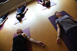 Samadhi yoga class in Dublin's Temple Bar